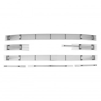 Paramount® - 7-Pc Polished 4mm Horizontal Billet Main Grille