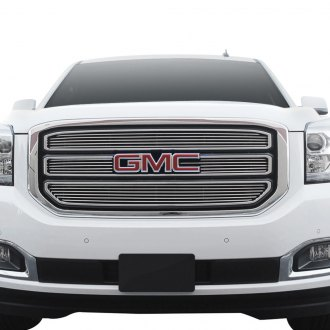 Paramount® - 4-Pc Polished 4mm Horizontal Billet Main Grille