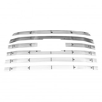 Paramount® - 6-Pc Polished 4mm Horizontal Billet Grille