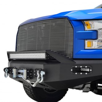 Paramount® - 1-Pc Polished Horizontal Billet Grille