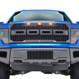 Paramount® - Raptor-Style Charcoal Gray Packaged Honeycomb Grille