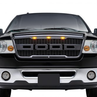 Paramount® - Impulse Series Raptor-Style Charcoal Gray Packaged Honeycomb Mesh Main Grille