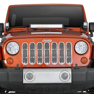 Paramount® - Restyling™ Polished Packaged Vertical Billet Main Grille