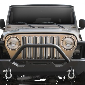 Paramount® - Restyling™ Polished Packaged 4mm Vertical Billet Main Grille