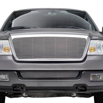 Paramount® - Restyling™ Polished Packaged 4mm Horizontal Billet Main Grille