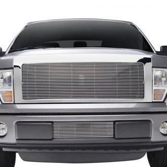 Paramount® - Polished Packaged 4mm Horizontal Billet Grille