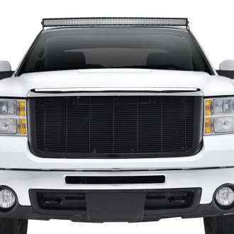 Paramount® - Textured Black Packaged Horizontal Billet Grille