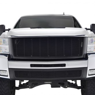 Paramount® - Restyling™ Textured Black Packaged Horizontal Billet Main Grille