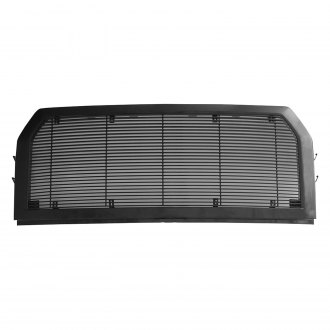 Paramount® - 1-Pc Textured Black Packaged Horizontal Billet Main Grille