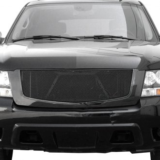 Paramount® - Restyling™ Black Powder Coated Packaged Wire Mesh Main Grille