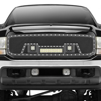Paramount® - Restyling™ LED Evolution Black Packaged Wire Mesh Main Grille