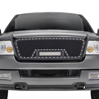 Paramount® - Restyling™ LED Evolution Textured Black Packaged Wire Mesh Grille