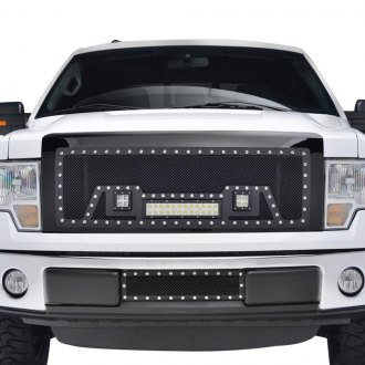 Paramount® - LED Evolution Textured Black Packaged Wire Mesh Grille