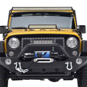 Paramount® - LED Evolution Black Packaged Wire Mesh Main Grille