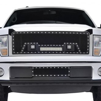 Paramount® - 1-Pc LED Evolution Textured Black Wire Mesh Grille