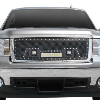 Paramount® - 1-Pc Restyling™ LED Evolution Black Wire Mesh Grille