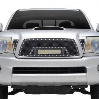 Paramount® - 1-Pc LED Evolution Black Wire Mesh Grille