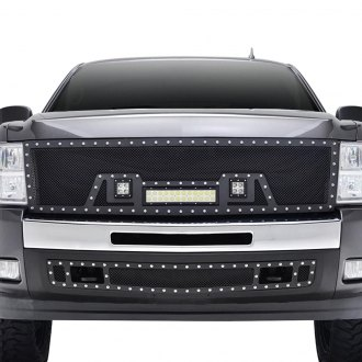 Paramount® - LED Evolution Textured Black Wire Mesh Grille