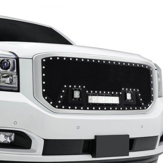 Paramount® - 1-Pc LED Evolution Textured Black Wire Mesh Main Grille