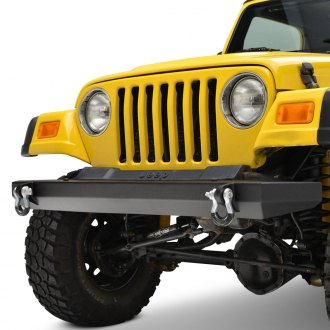 Paramount® - Off-Road™ Classic Full Width Black Front HD Bumper