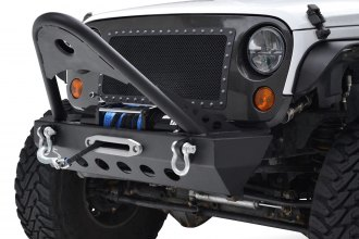 Paramount Automotive® - Off-Road™ Xtreme Stubby Front HD Black Bumper