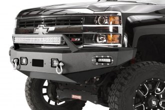 Paramount Automotive® - Full Width Front HD Black Bumper