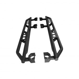 Paramount Automotive® - Off Road™ Raptor Black Rock Sliders