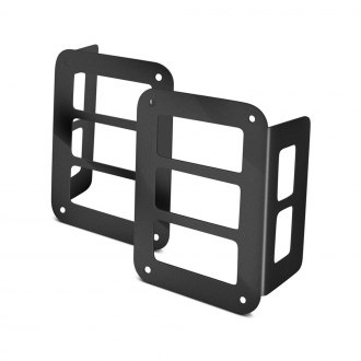 Paramount® - Off Road™ Billet Black Tail Light Guard Covers