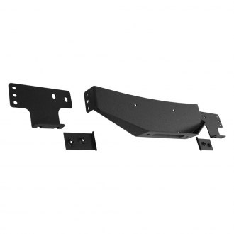 Paramount® - Off Road™ Black Steel Winch Plate
