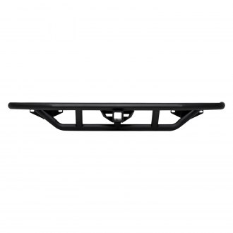 Paramount® - Off Road™ Rock Crawler Full Width Rear Tubular Black Steel Bumper