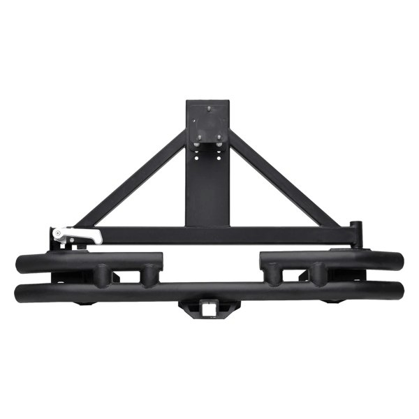 Paramount Automotive® - Off Road™ Black Bumper with Tire Carrier