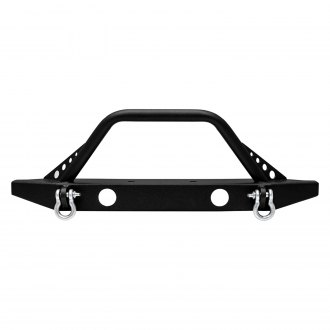 Paramount® - Off Road™ Rock Crawler Sport Full Width Black Front Winch HD Bumper