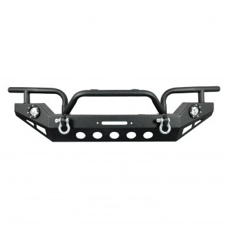 Paramount® - Off-Road™ Xtreme Full Width Black Front Winch HD Bumper