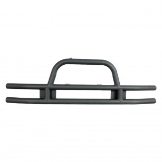 Paramount® - Off Road™ Xtreme Crawler Classic Full Width Black Front Tubular Bumper