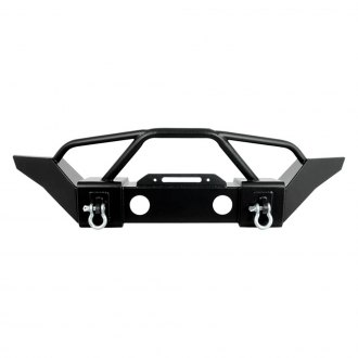 Paramount® - Off-Road™ R6 Full Width Black Front Winch HD Bumper