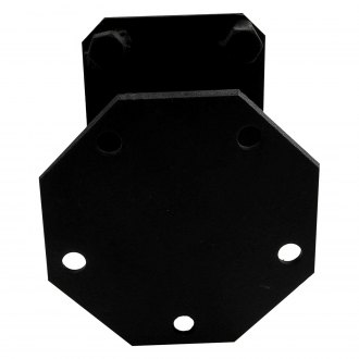 Paramount® - Off Road™ Black Steel Tire Relocation Bracket