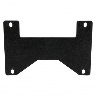 Paramount® - Off Road™ Black License Plate Bracket