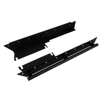 Paramount Automotive® - Off Road™ Evolution Black Side Rocker Guards