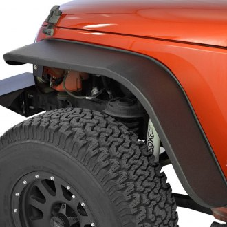 Paramount® - Off Road™ Stubby Black Steel Fender Flares