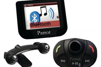 Parrot® - Bluetooth Car Kit with Streaming Music with SD Slot