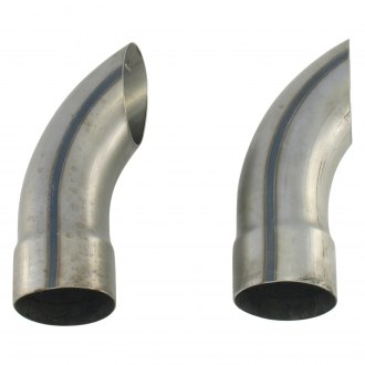 Patriot Exhaust® - Steel Turndown Raw Exhaust Turnouts