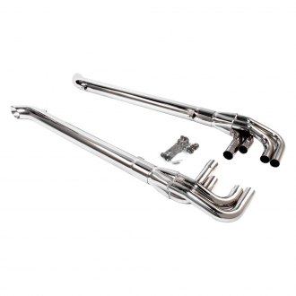 Patriot Exhaust® - Chrome Plated Lake Pipes