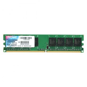 Patriot Memory® - Signature 2GB DDR2 667 MHz 240-pin Non-ECC Unbuffered Memory Module
