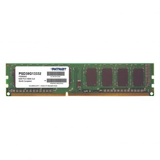 Patriot Memory® - Signature 8GB DDR3 1333 MHz 240-pin Non-ECC Unbuffered Memory Module