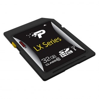 Patriot Memory® - 32 GB Signature LX Series Secure Digital High Capacity (SDHC) Card, Class 10