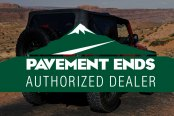 Pavement Ends Authorized Dealer