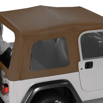 Pavement Ends® - Spice Replay™ Fabric-only Soft Top with Clear Side and Rear Windows