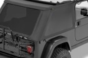 Pavement Ends® - Black Denim Sprint Top Frameless Soft Top