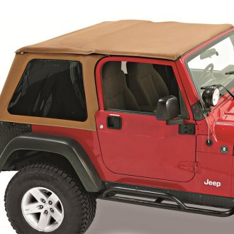 Pavement Ends® - Spice Sprint Top Frameless Soft Top with Tinted Side and Rear Windows