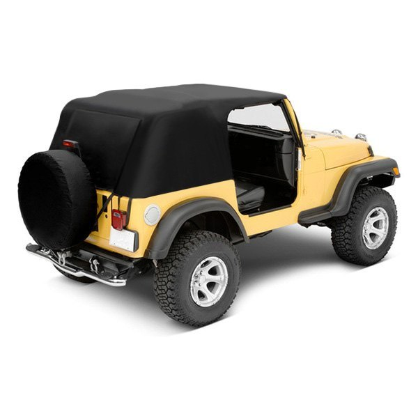 Image may not reflect your exact vehicle! Pavement Ends® - Emergency Top Soft Top
